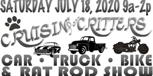 cruisin critters car show
