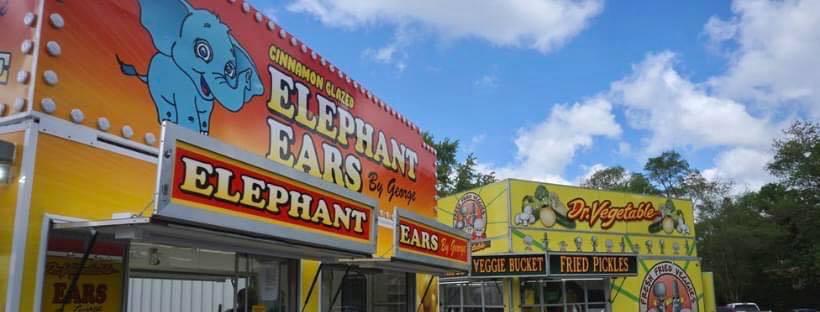 elephant ears fried pickles lemon shakeups fair foods portage indiana