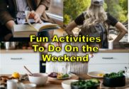 family fun activities to do on the weekends