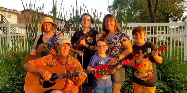 sandy showtunes reasoner family singers concert at indiana dunes state park