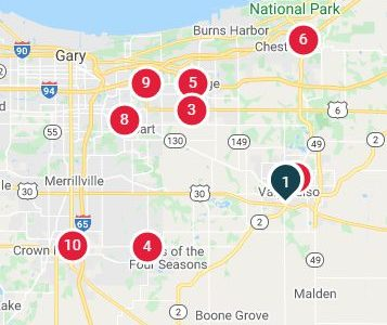 walgreens offers covid 19 testing in Northwest Indiana