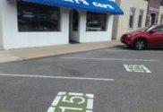 short term parking spaces downtown valparaiso restaurant pickup