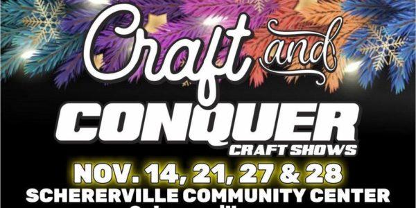 craft conquer schererville indiana art and craft shows