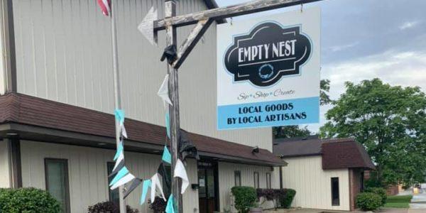 empty nest outdoor sign e1599658356689