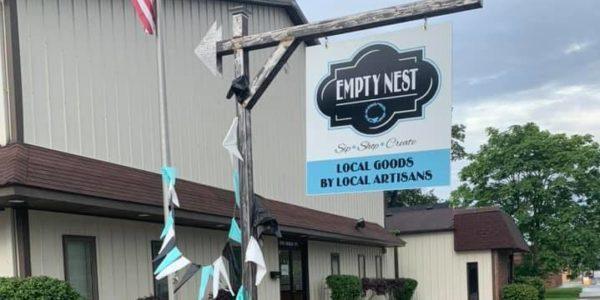 empty nest outdoor sign e1603813294866