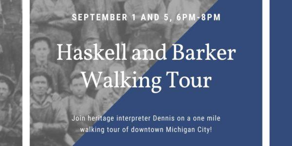 haskell barker manion tour michigan city indiana historic preservation