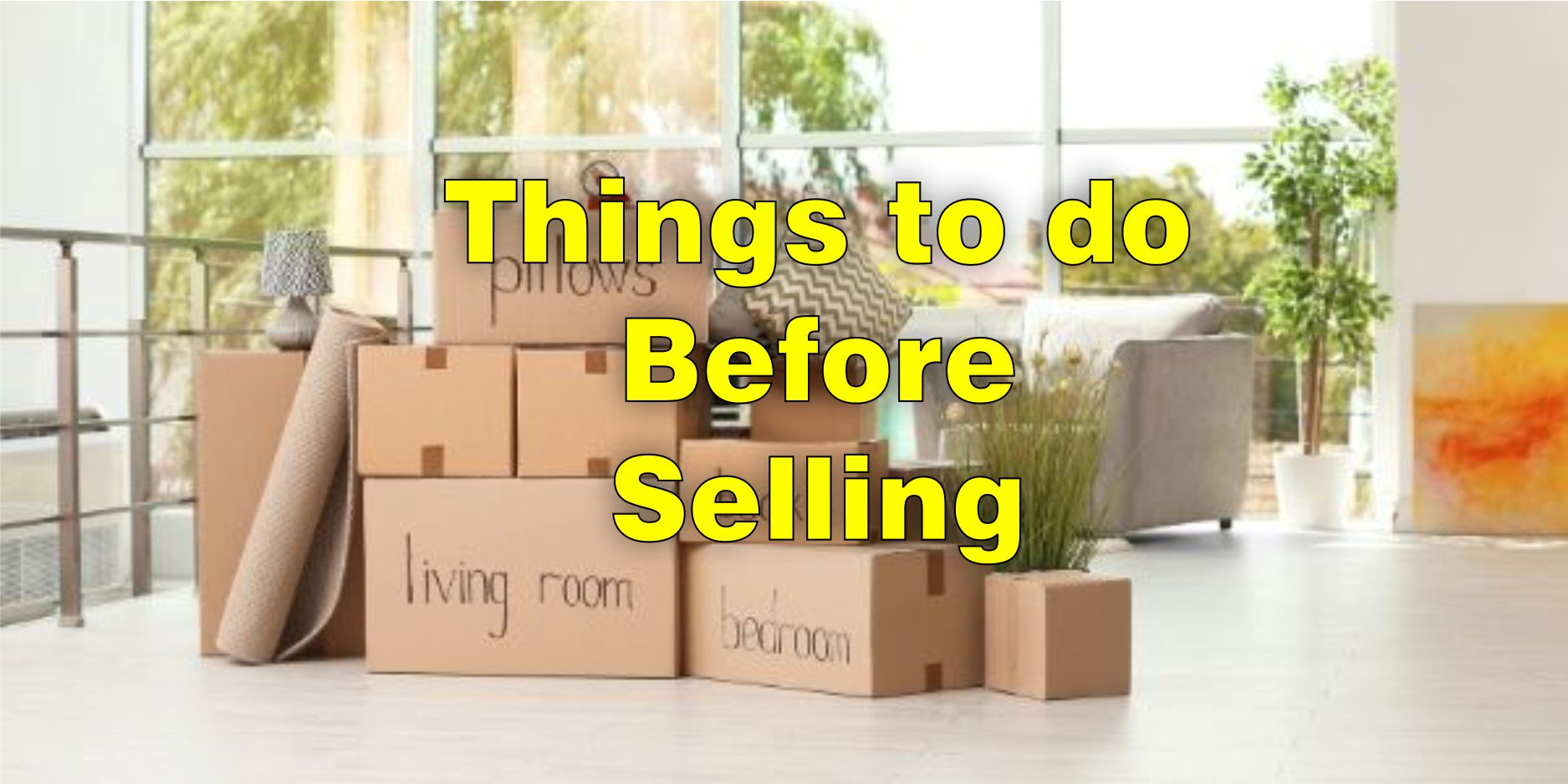 Home improvement selling your home