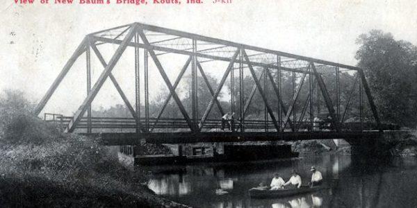 haunted baums bridge ghost story kouts indiana