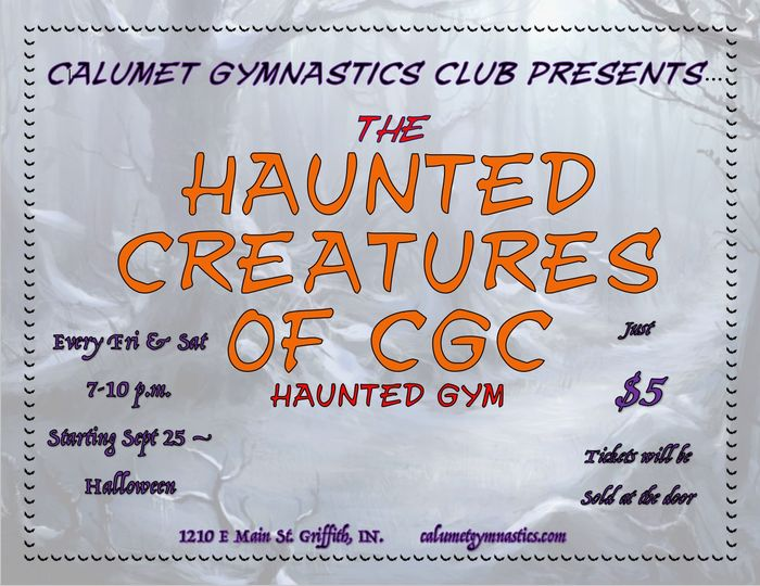 haunted creatures of calumet gym griffith indiana