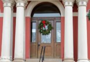 crown point indiana courthouse decked out for holiday events santa winter market tour of lights