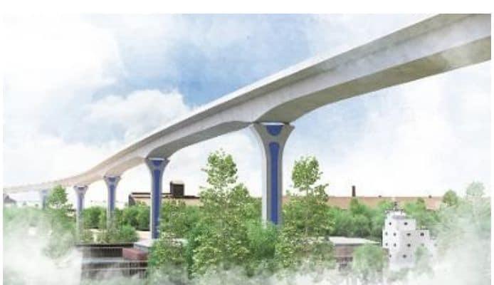 Cline Avenue Bridge to Open in Hammond Indiana