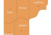 Lake porter and Laporte counties are code orange indiana covid