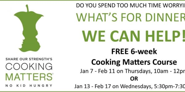 cooking matters portage indiana ymca food bank