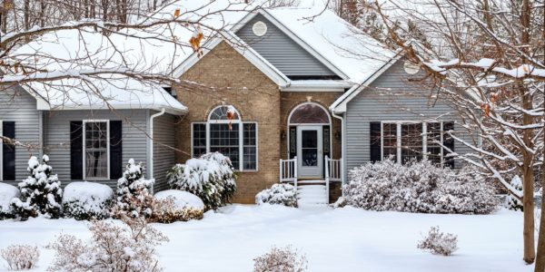 winter curb appeal real estate home improvement