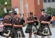 st patricks lake county bag pipes