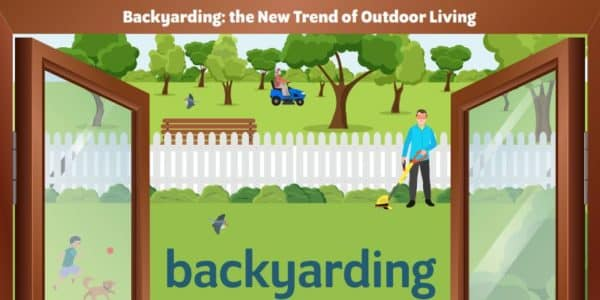 BACKYARDING lifestyle trend landscaping family life outdoors landscaping