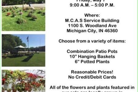 Mothers day flower sale michigan city indiana MCAS