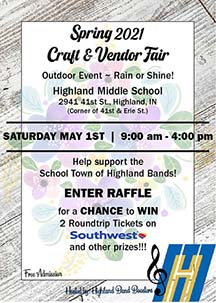Spring 2021 Highland Band Craft Fair