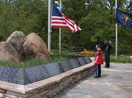 memorial day service at stoney run park hebron indiana