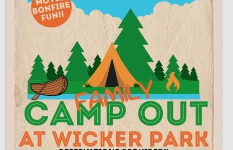 wicker park family camp out highland indiana