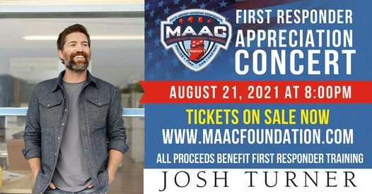 First Responders Benefit Concert with Josh Turner valpolife