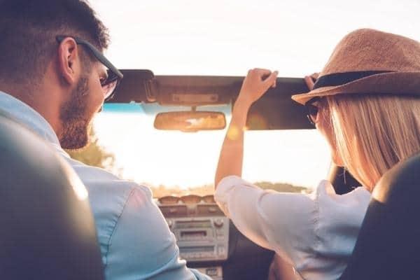 honeymoon road trip wedding