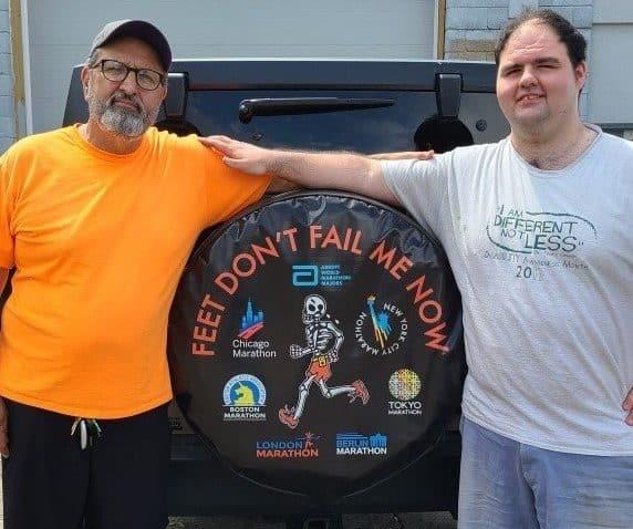 rick suarez raises money for the Doug Flutie Jr. Foundation autism northwest indiana e1628092490957