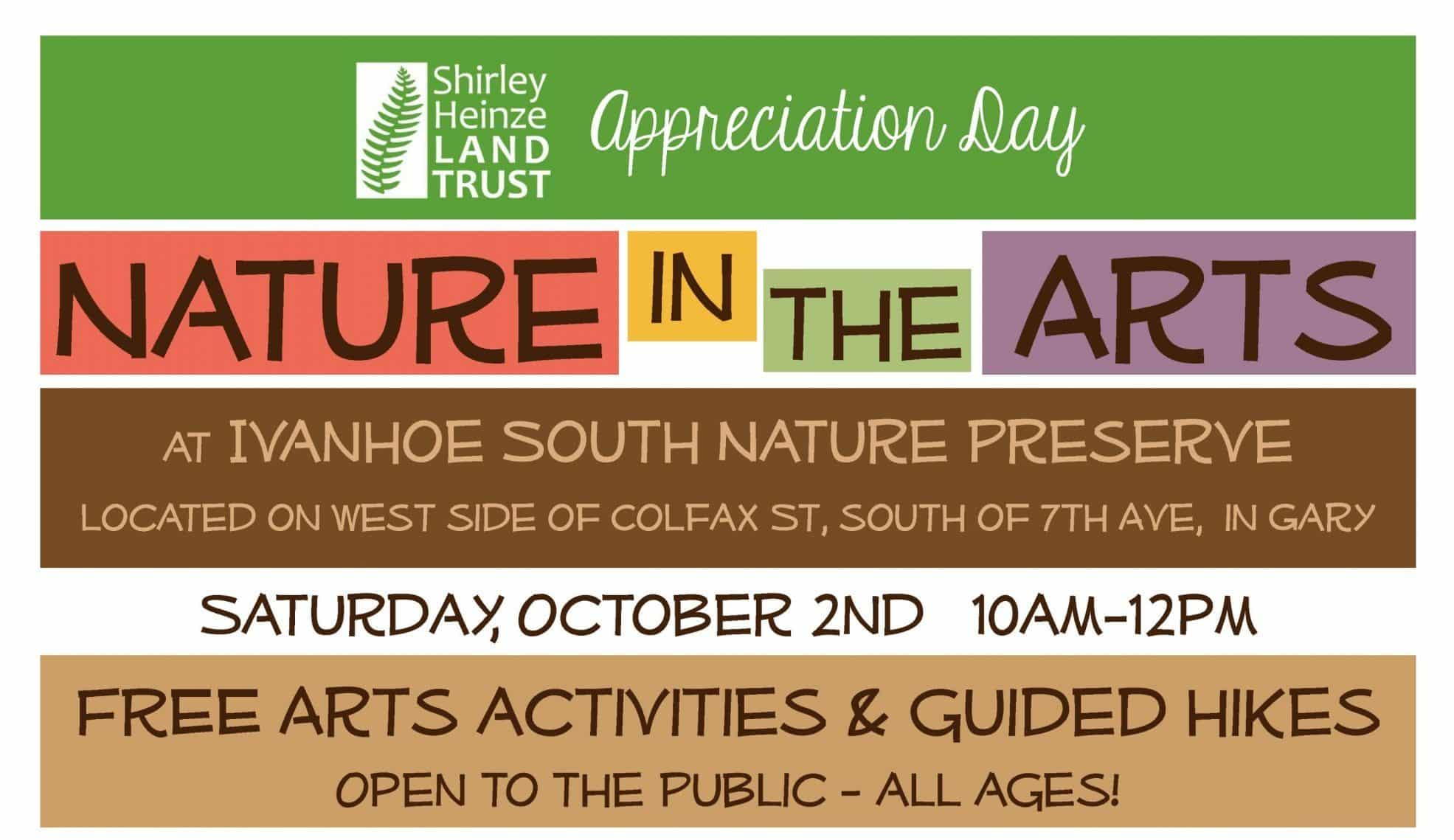 nature in the arts appreciation day ivanhoe south nature preserve gary indiana scaled e1632503333626