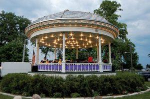 Washington Park Bandstand michigan city indiana